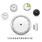 Clocks — Stockvector