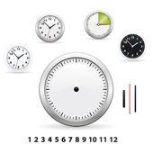 Clocks — Stockvektor