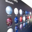 Metallic Colours - Stock Photo