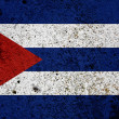 Grunge Cuba Flag - Stock Photo