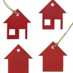 House Tag Set — Stock Photo