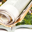 Stock Photo: Newspaper and Magazine
