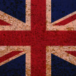 Rusty Flag Of Great Britain — Stock Photo