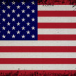 Retro Flag Of USA — Stock Photo