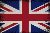 Spotted Flag Of UK — Stock Photo