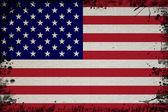 Retro Flag Of USA — Stock Photo