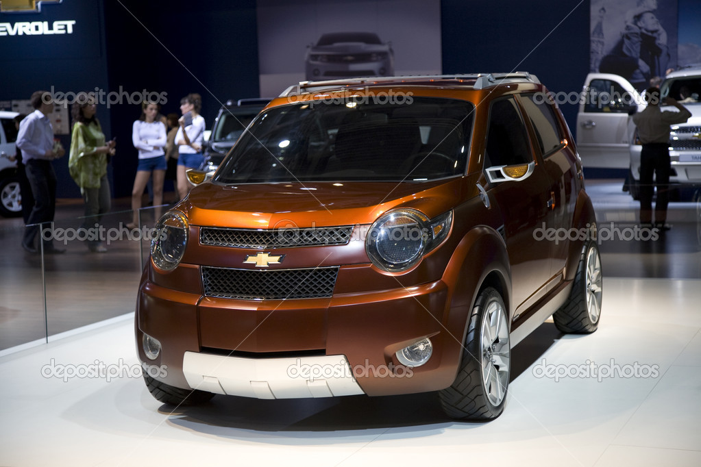 Moscow International Automobile Salon 2008. Chevrolet Car. — Stock Photo #4734105