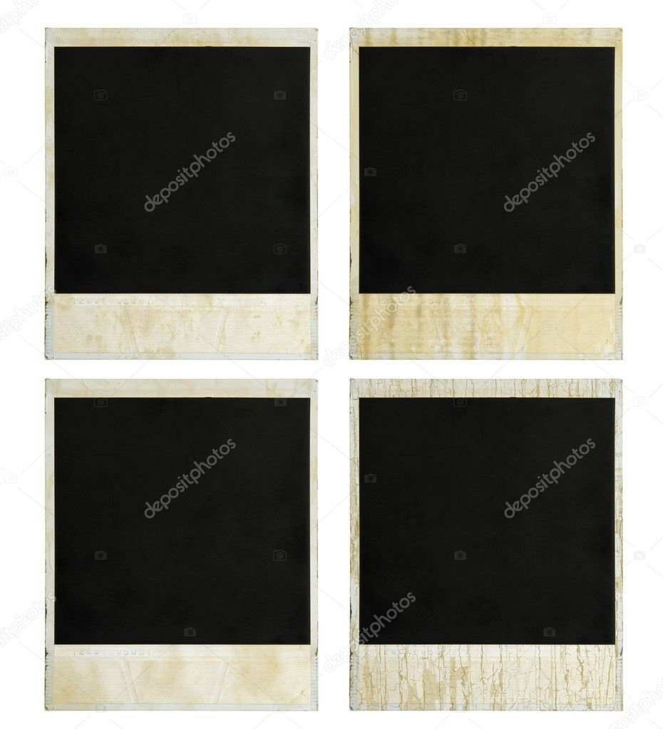 Camera Frame Set Two. Isolated On White. — Stock Photo #4734744