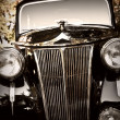 Classic vintage car - Stock Photo