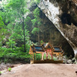 Kuha Karuhas pavillon in Phraya Nakorn cave — Stock Photo #4777116