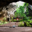 Kuha Karuhas pavillon in Phraya Nakorn cave - Stock Photo