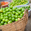 Fresh Organic Limes - Stock Photo