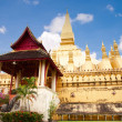 Wat Pha-That Luang — Stock Photo
