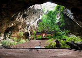 Kuha Karuhas pavillon in Phraya Nakorn cave — Stock Photo