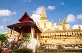 Wat Pha-That Luang — Stock Photo