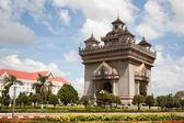 Patuxai monument — Stock Photo