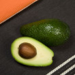 Avocado Background - Stock Photo