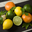 Citrus Fruit Background — Stock Photo