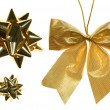 Golden Decoration Set - Stock Photo