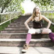 Emo Girl - Stockfoto
