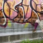 Graffiti Scene — Stock Photo