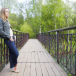 Stock Photo: On Bridge