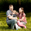 Family In The Park - Foto de Stock