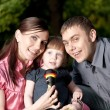 happy family — Stock Photo #4861926