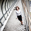 Businesswoman Walking — Foto de Stock