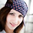 Stock Photo: Girl With Baseball Cap