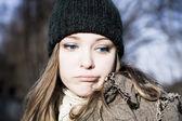 Portrét mladé ženy — Stock fotografie