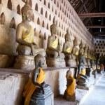 Ancient Buddha sculptures — Stock Photo #4907164