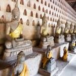 Ancient Buddha sculptures — Stock Photo #4907183