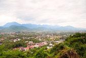 Scenic view across Luang Prabang — Stock Photo