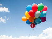 Colorful balloons — Foto Stock