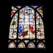 Stained-glass window. — Stock Photo