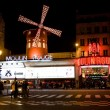 Moulin Rouge, Paris - 图库照片