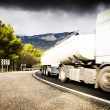 Stock Photo: Truck On Road