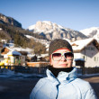 Stock Photo: WomIn Alps Resort