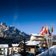 Stock Photo: European Ski Resort