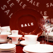 Dishware Sale — Stock Photo #5247489