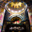The Greek Orthodox Church of the Twelve Apostles in Capernaum - Stock fotografie
