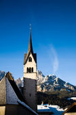 Church In Alp Mountains — Stock Photo