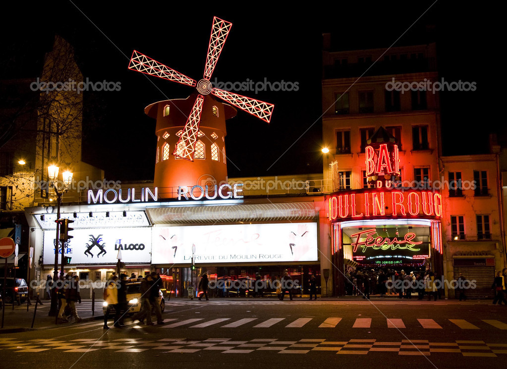Moulin Rouge, Paris, December 2007 — Stock Photo #5246481