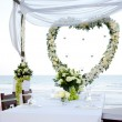 Wedding on the beach - Stock Photo