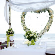 Wedding on the beach — Stock Photo