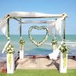 wedding decoration — Stock Photo