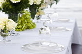 Wedding table setting — Fotografia Stock