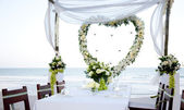 Wedding on the beach — Foto de Stock