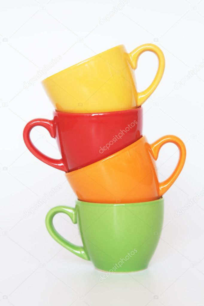 Colored cups — Stock Photo #4838471